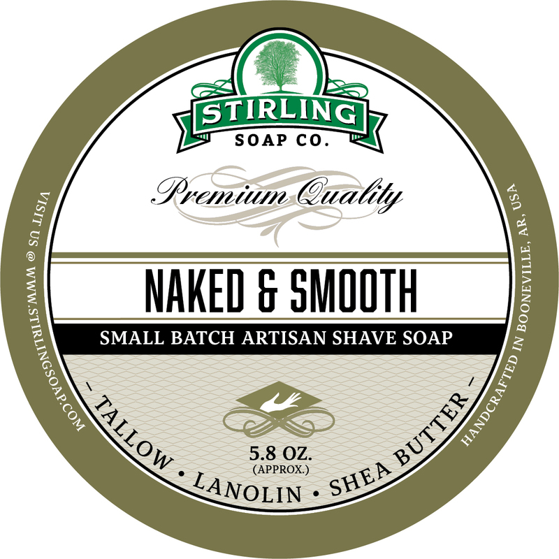 Stirling Soap Co. - Naked & Smooth - Soap image