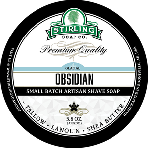 Stirling Soap Co. - Glacial, Obsidian - Soap image