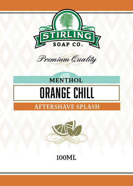 Stirling Soap Co. - Orange Chill - Aftershave image