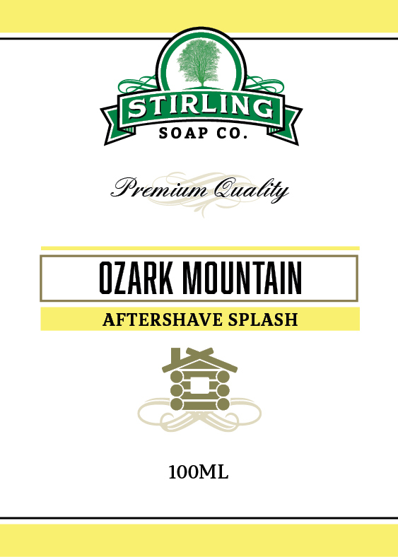 Stirling Soap Co. - Ozark Mountain - Aftershave image