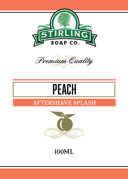 Stirling Soap Co. - Peach - Aftershave image