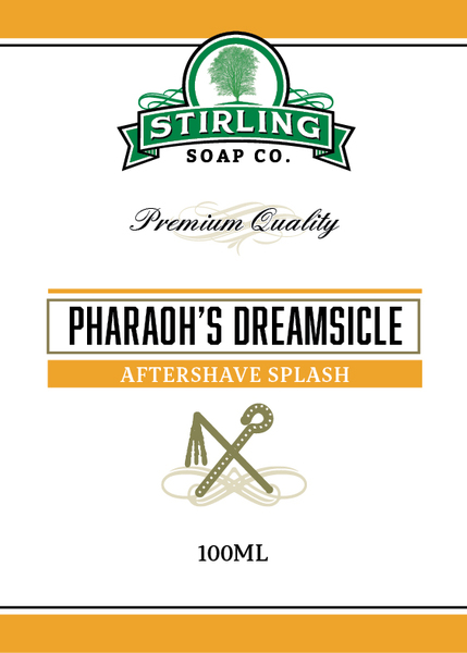 Stirling Soap Co. - Pharaoh's Dreamsicle - Aftershave image