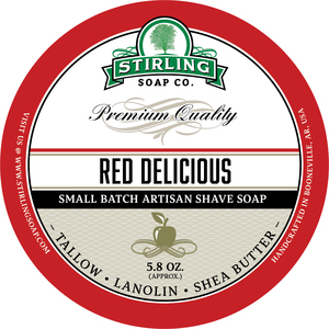 Stirling Soap Co. - Red Delicious - Soap image