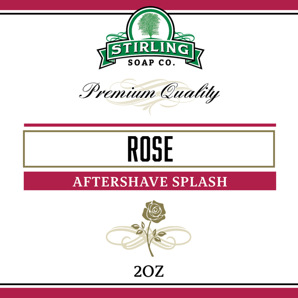 Stirling Soap Co. - Rose - Aftershave image