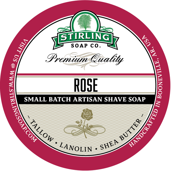 Stirling Soap Co. - Rose - Soap image