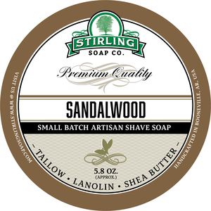 Stirling Soap Co. - Sandalwood - Soap image