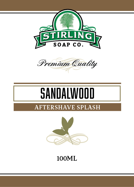 Stirling Soap Co. - Sandalwood - Aftershave image