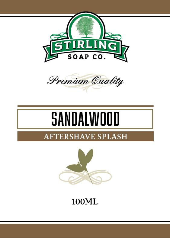 Stirling Soap Co. - Sandalwood - Aftershave image