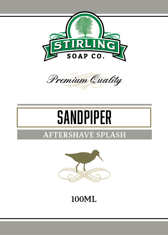 Stirling Soap Co. - Sandpiper - Aftershave image