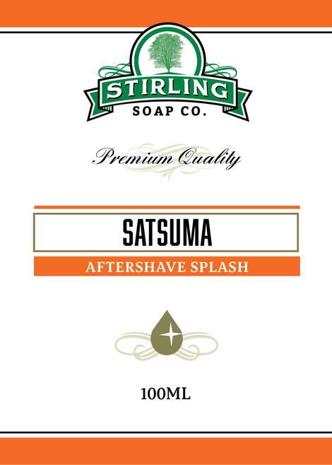 Stirling Soap Co. - Satsuma - Aftershave image
