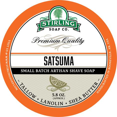 Stirling Soap Co. - Satsuma - Soap image