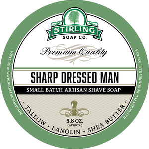 Stirling Soap Co. - Sharp Dressed Man - Soap image