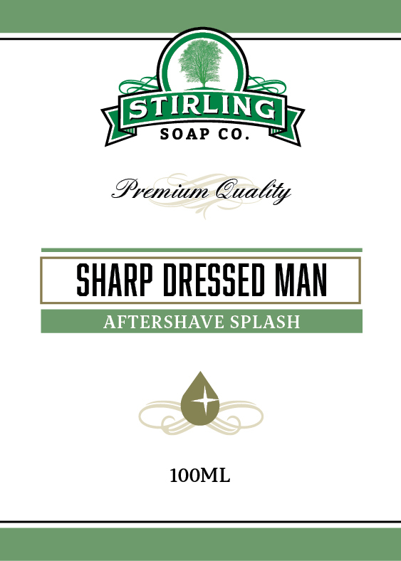 Stirling Soap Co. - Sharp Dressed Man - Aftershave image