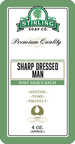 Stirling Soap Co. - Sharp Dressed Man - Balm image