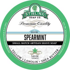 Stirling Soap Co. - Glacial, Spearmint - Soap image