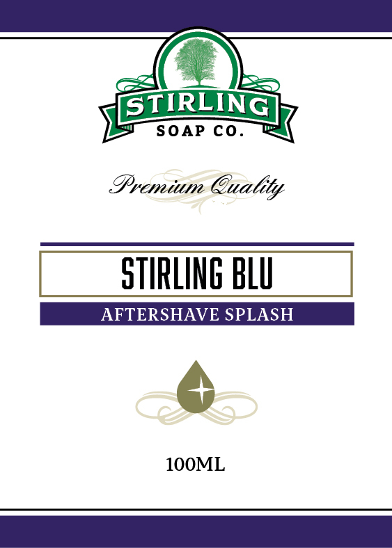 Stirling Soap Co. - Stirling Blu - Aftershave image