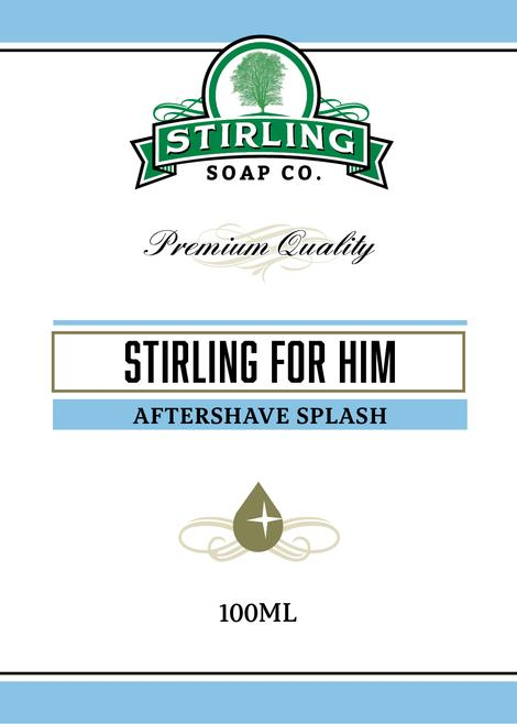 Stirling Soap Co. - Stirling For Him - Aftershave image