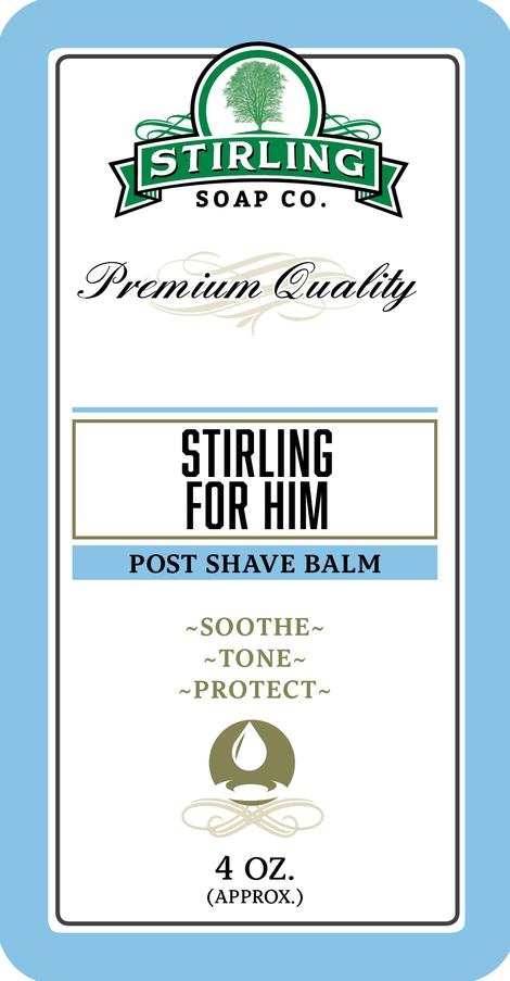 Stirling Soap Co. - Stirling For Him - Balm image