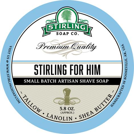 Stirling Soap Co. - Stirling For Him - Soap image