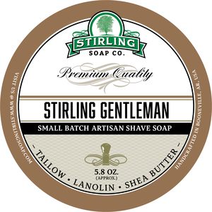 Stirling Soap Co. - Stirling Gentleman - Soap image
