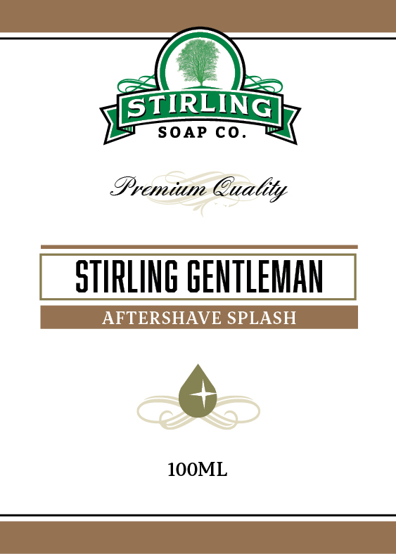 Stirling Soap Co. - Stirling Gentleman - Aftershave image