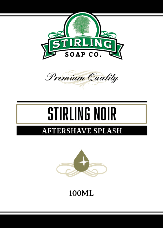 Stirling Soap Co. - Stirling Noir - Aftershave image