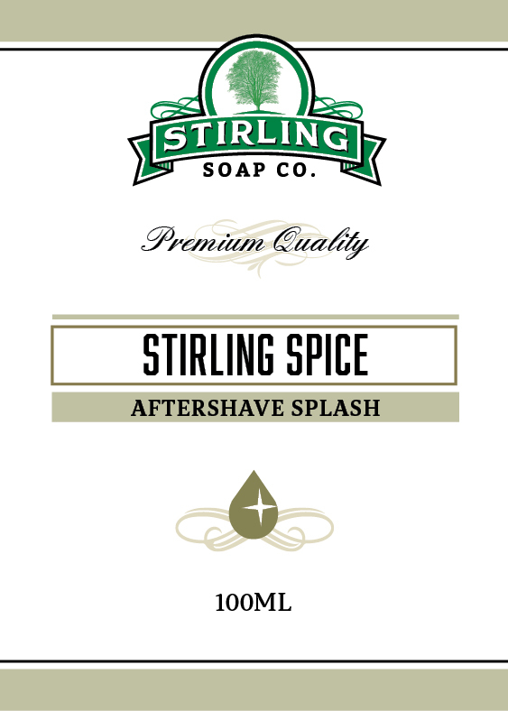 Stirling Soap Co. - Stirling Spice - Aftershave image
