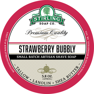 Stirling Soap Co. - Strawberry Bubbly - Soap image