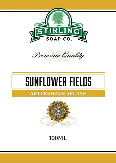 Stirling Soap Co. - Sunflower Fields - Aftershave image