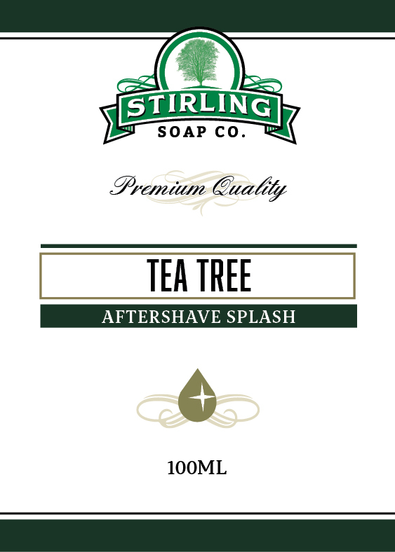 Stirling Soap Co. - Tea Tree - Aftershave image
