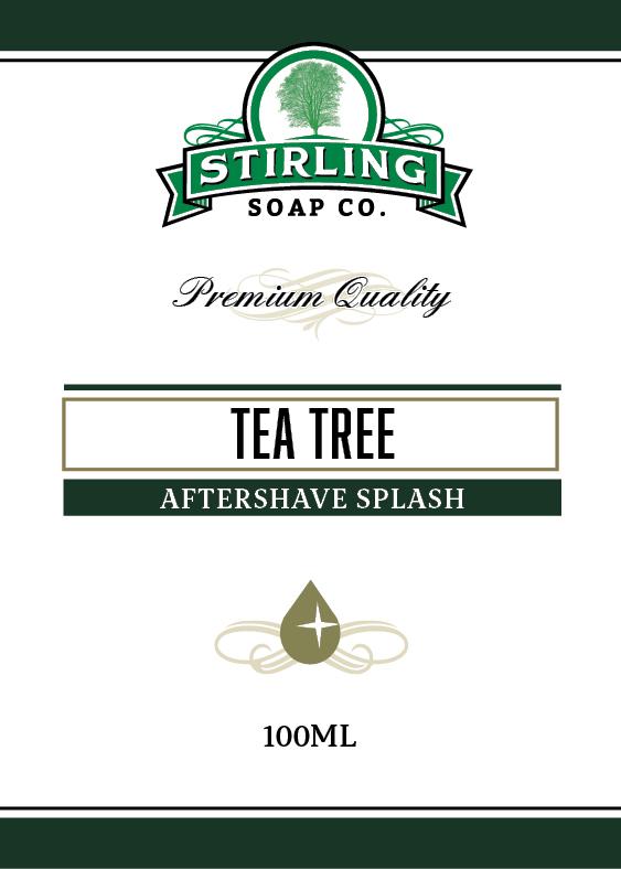 Stirling Soap Co. - Tea Tree - Aftershave image