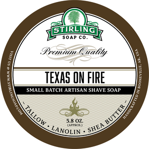 Stirling Soap Co. - Texas on Fire - Soap image