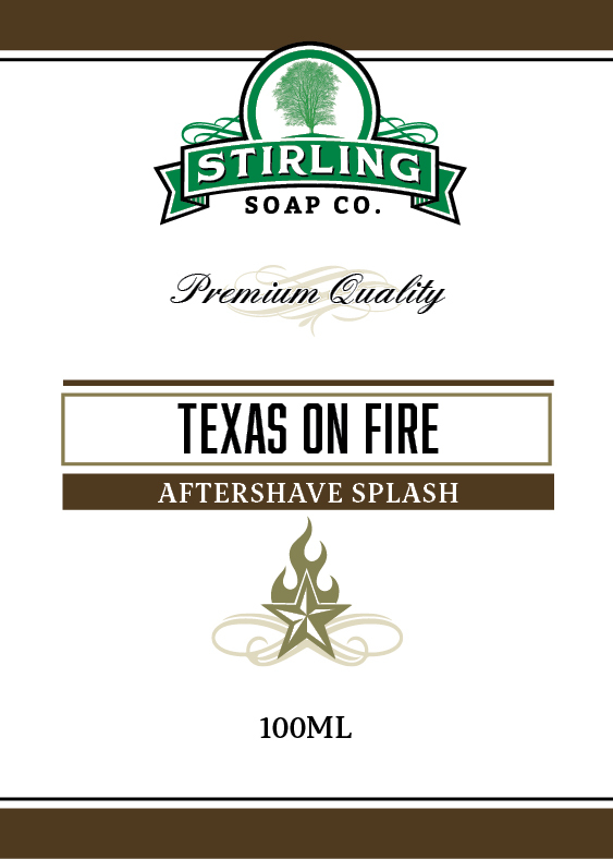 Stirling Soap Co. - Texas on Fire - Aftershave image