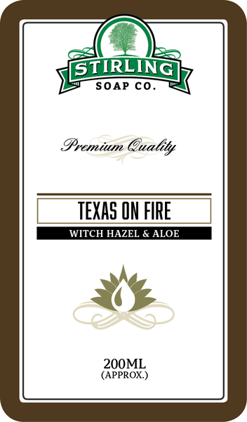 Stirling Soap Co. - Texas on Fire - Toner image