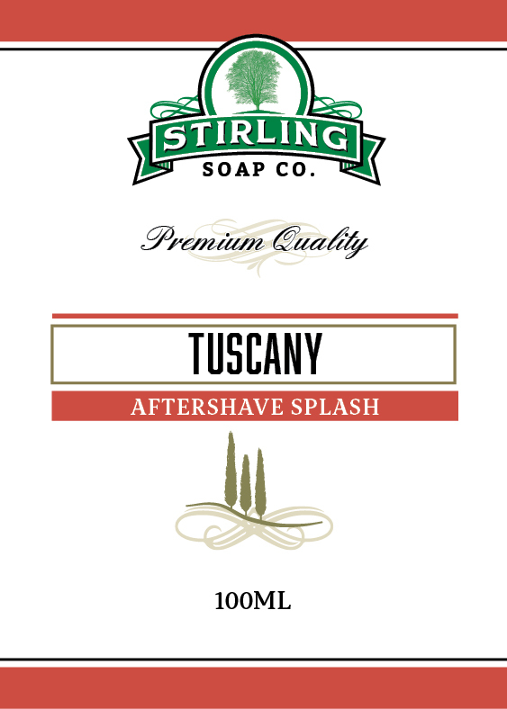 Stirling Soap Co. - Tuscany - Aftershave image