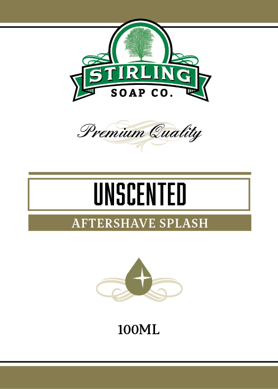 Stirling Soap Co. - Unscented - Aftershave image