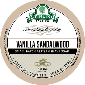 Stirling Soap Co. - Vanilla Sandalwood - Soap image