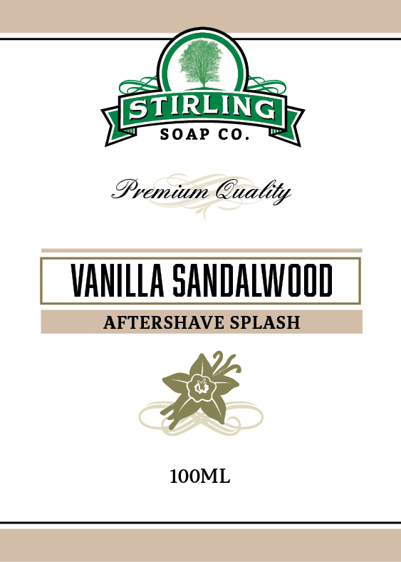 Stirling Soap Co. - Vanilla Sandalwood - Aftershave image