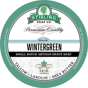 Stirling Soap Co. - Glacial, Wintergreen - Soap image