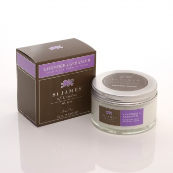 St. James of London - Lavender & Geranium - Cream image