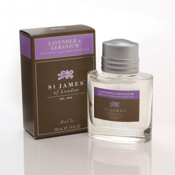 St. James of London - Lavender & Geranium - Gel image