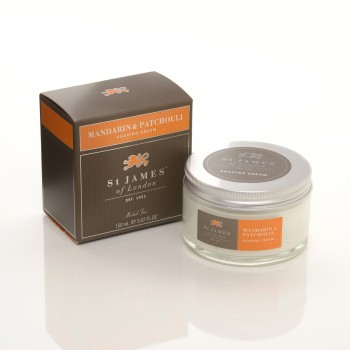 St. James of London - Mandarin & Patchouli - Cream image