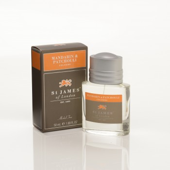 St. James of London - Mandarin & Patchouli - Cologne (Alcohol Free) image
