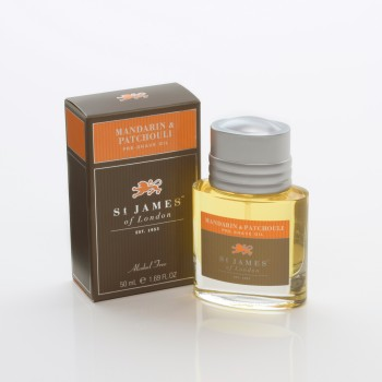 St. James of London - Mandarin & Patchouli - Preshave Oil image