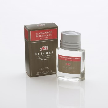 St. James of London - Sandalwood & Bergamot - Cologne (Alcohol Free) image