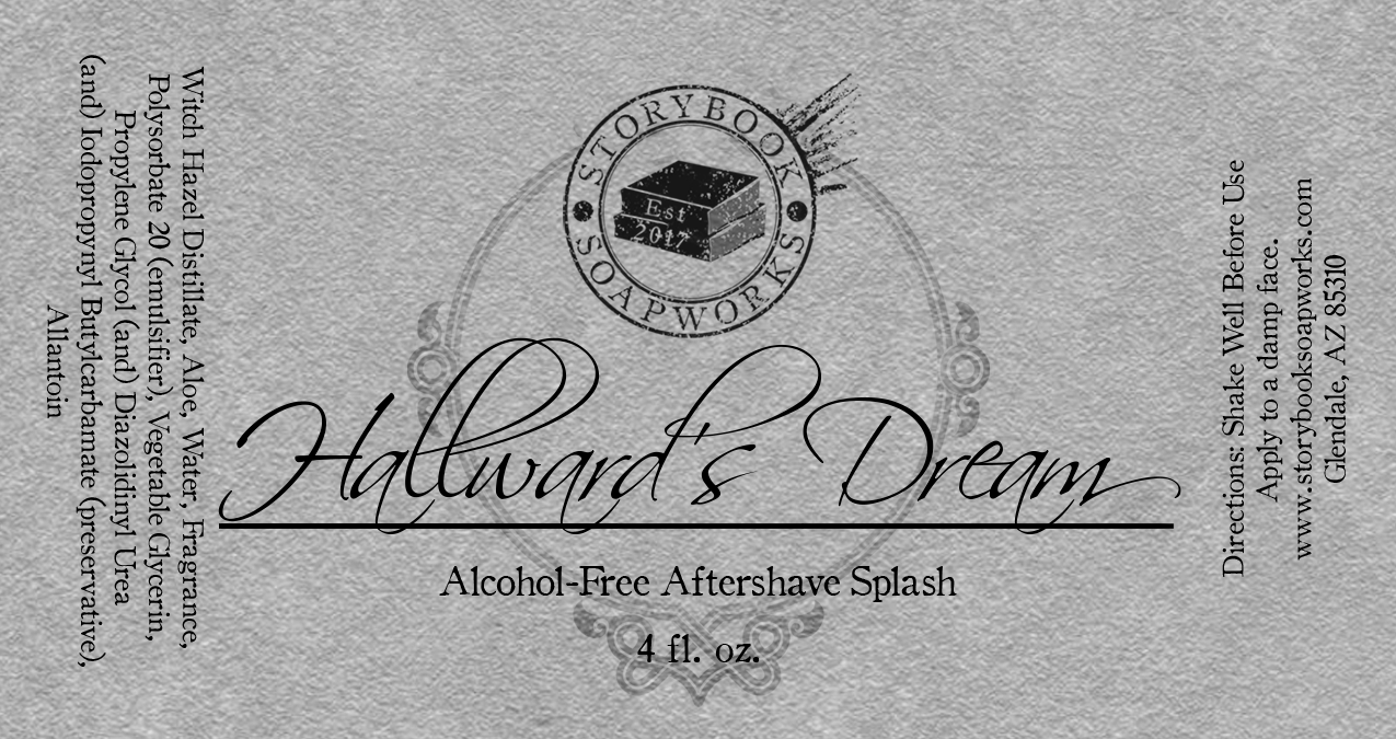 Storybook Soapworks - Hallward's Dream - Aftershave (Alcohol Free) image