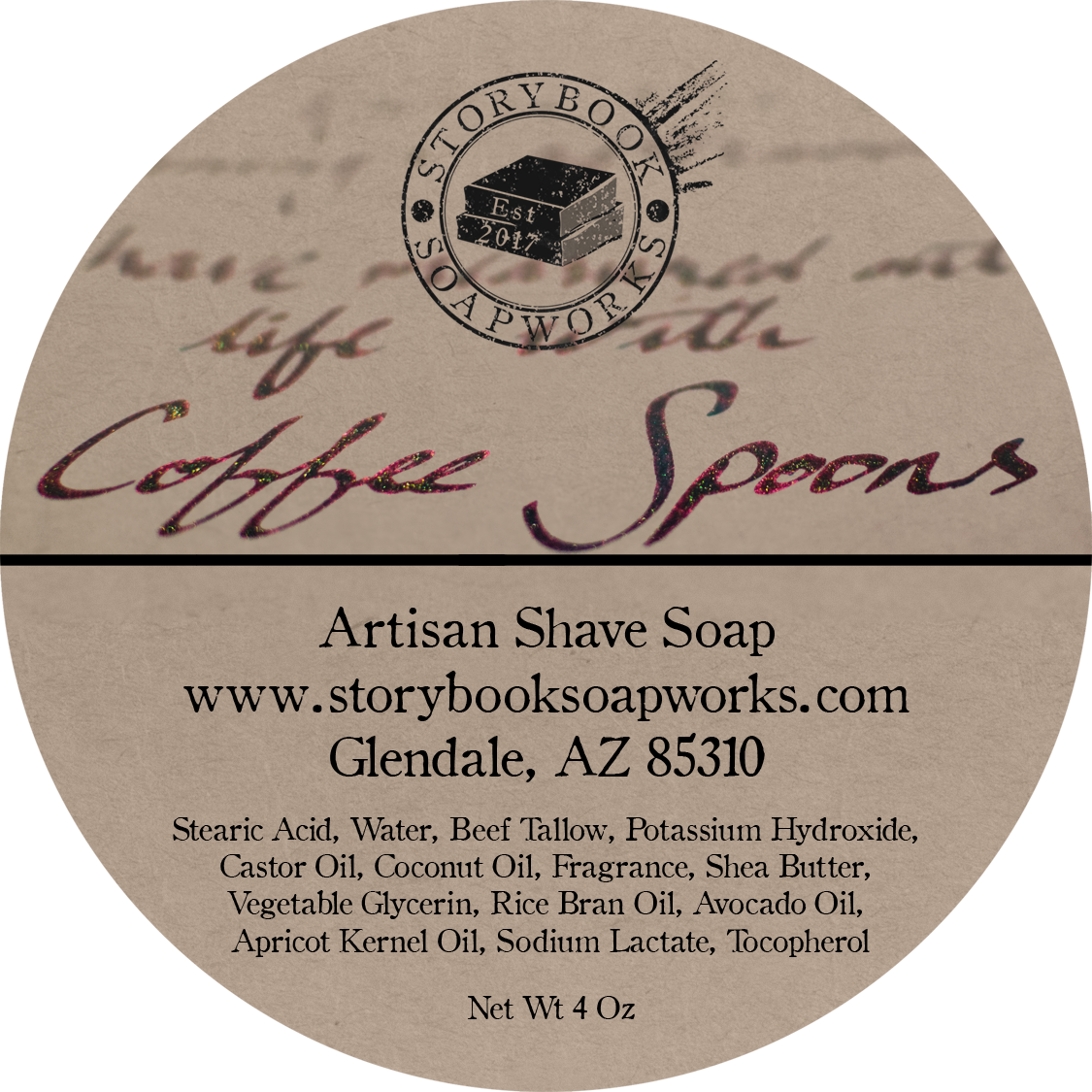 Storybook Soapworks - Coffee Spoons - Soap image