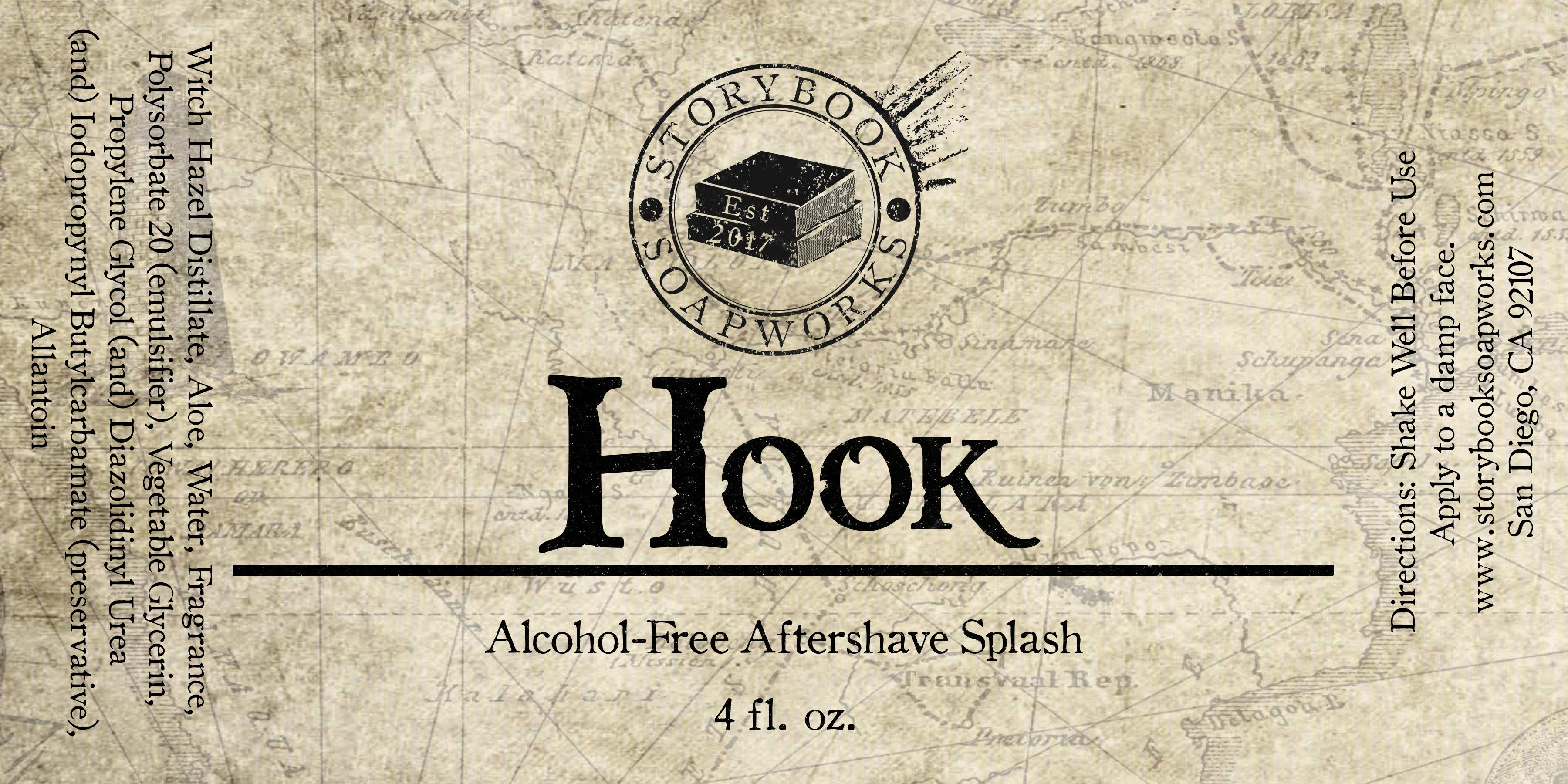Storybook Soapworks - Hook - Aftershave (Alcohol Free) image