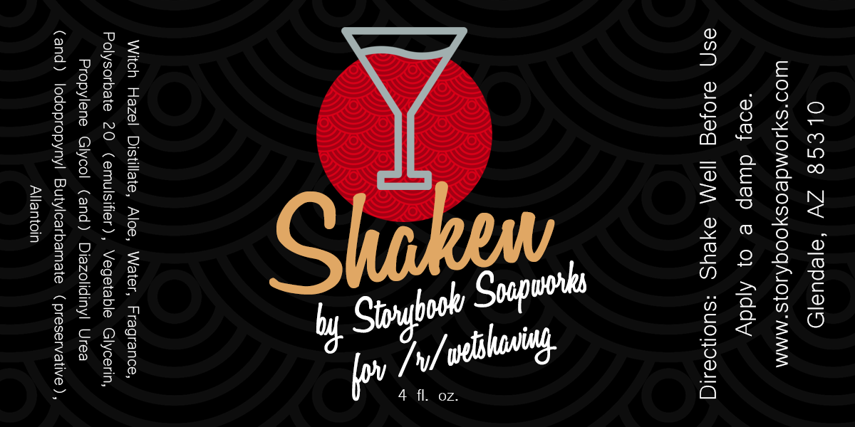 Storybook Soapworks - Shaken - Aftershave (Alcohol Free) image