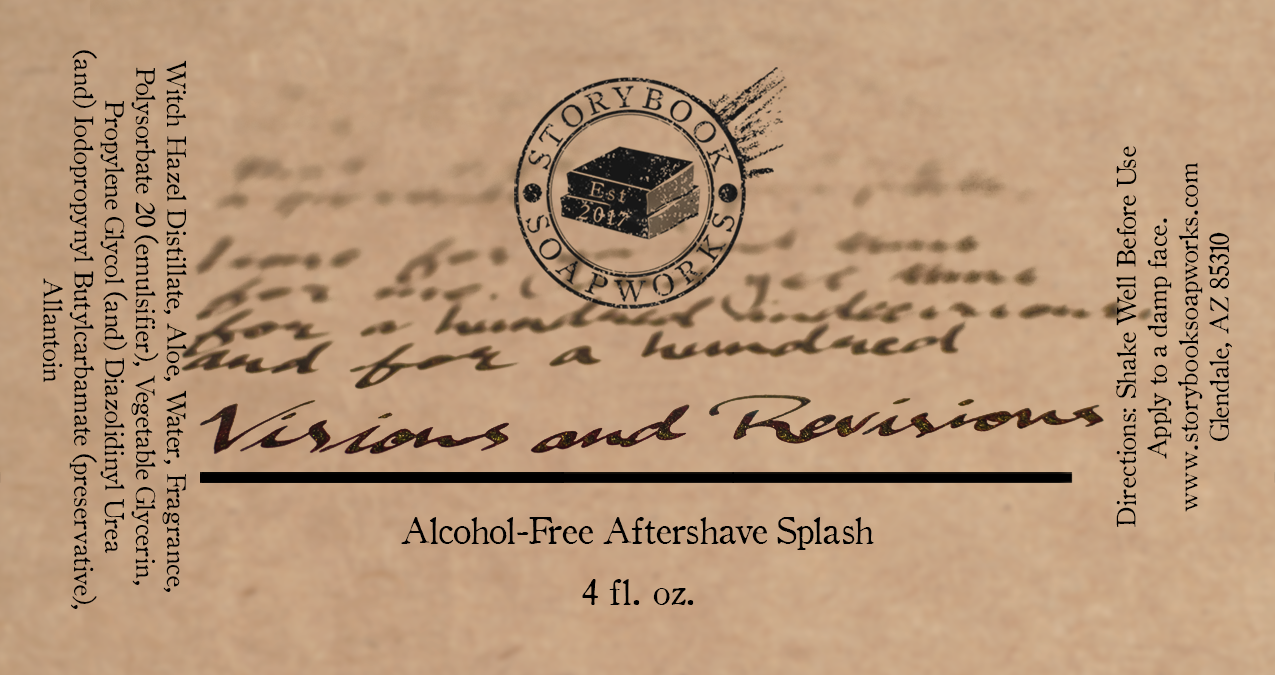 Storybook Soapworks - Visions and Revisions - Aftershave (Alcohol Free) image